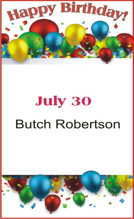 Happy Birthday to Robertson