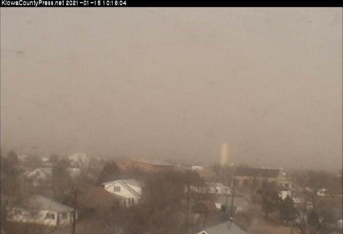 PICT Blowing dust looking north from Eads in Kiowa County. Kiowa County Press