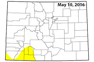 Drought Map - May 12, 2016