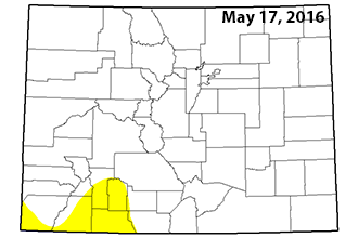 Drought Map - May 17, 2016