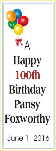 Pansy Foxworthy