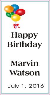 Happy Birthday to Marvin Watson