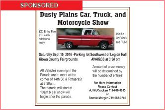 Sponsored - Dusty Plains Car Show