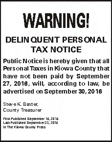 Delinquent Tax Notice