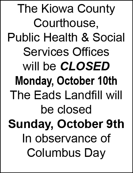 Courthouse Closed - Columbus Day