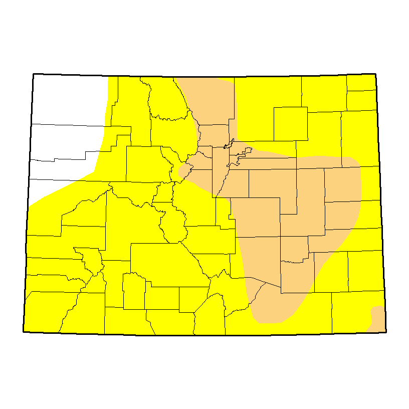 Drought Map - November 3, 2016