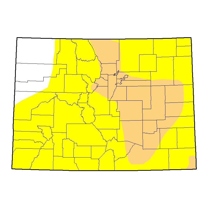 Drought Map - November 3, 2016