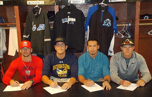 PICT - LCC Baseball Signing