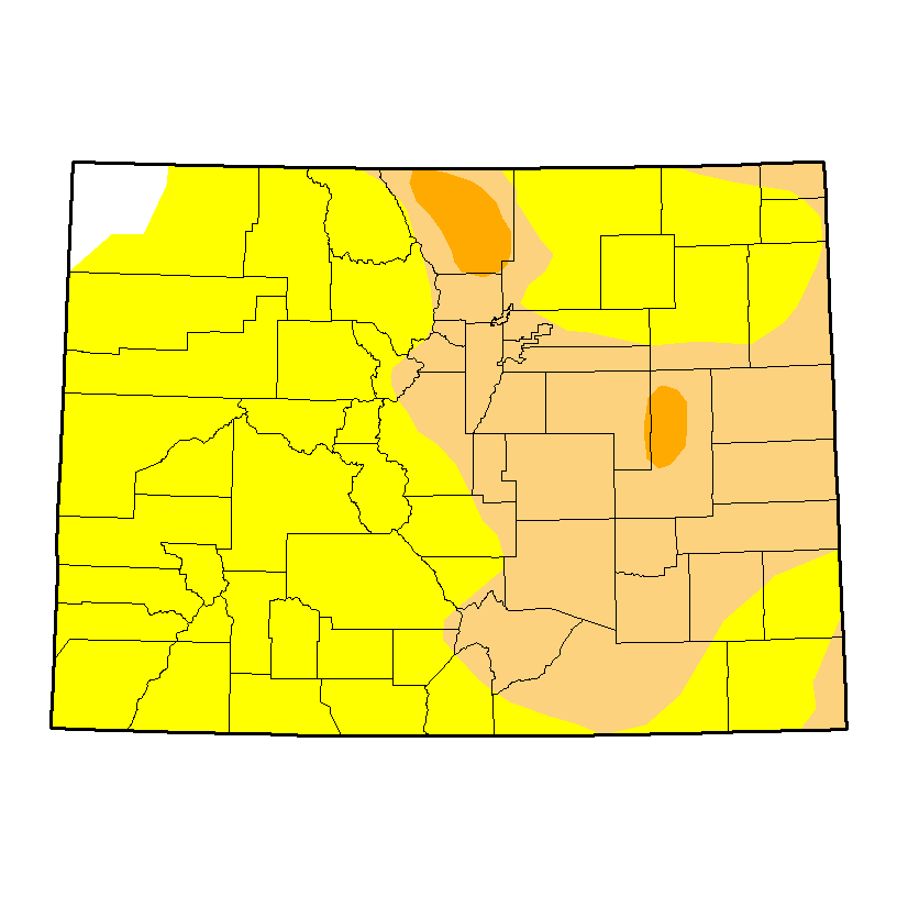 Colorado Drought Map - November 17, 2106