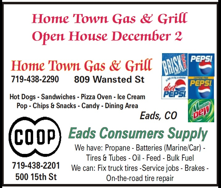 ADV - Home Town Gas & Grill Open House