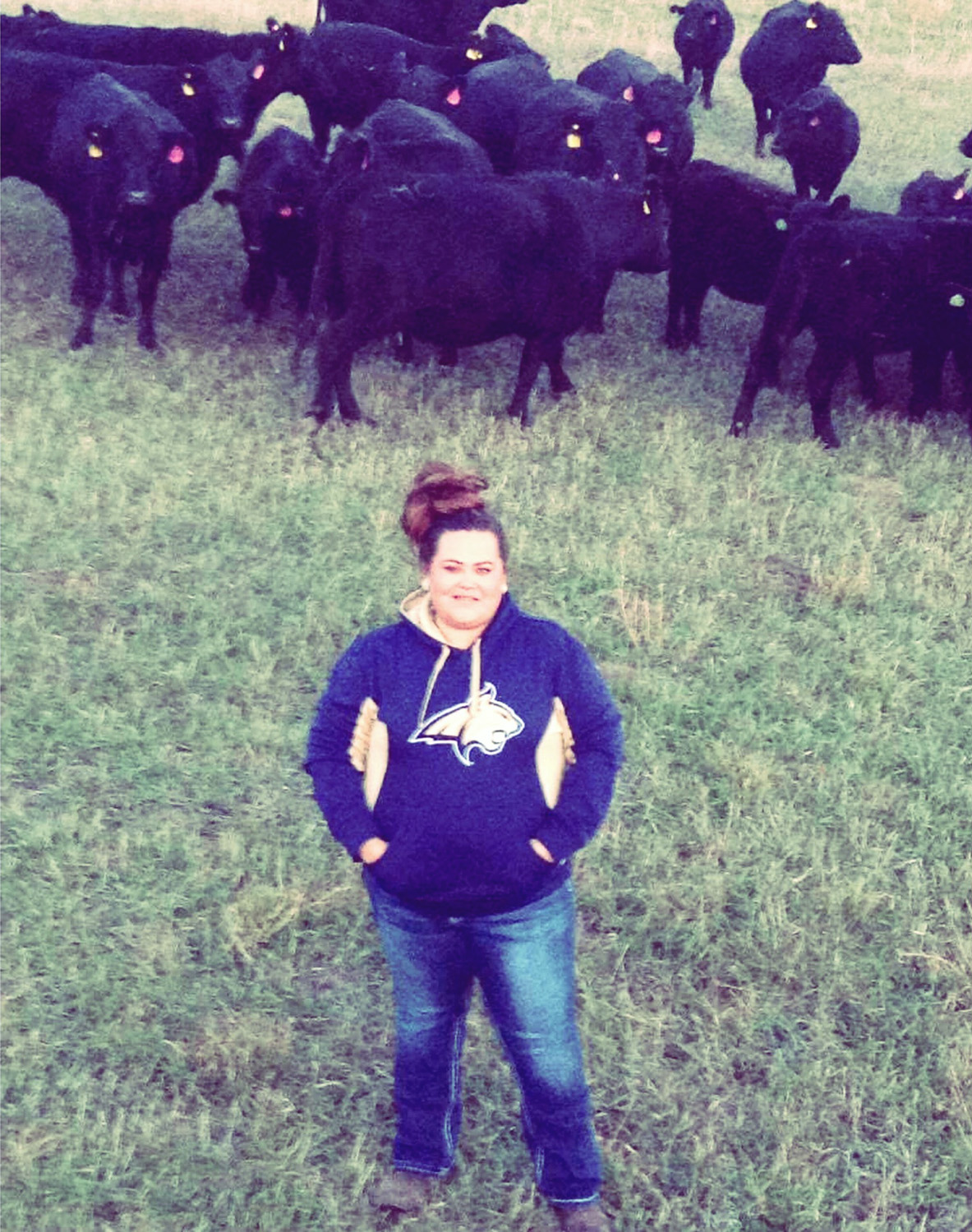 Fourth-generation cattle rancher Ryhal Rowland used the FSA microloan program to expand her cow-calf operation on the Northern Cheyenne Indian Reservation in southeastern Montana.