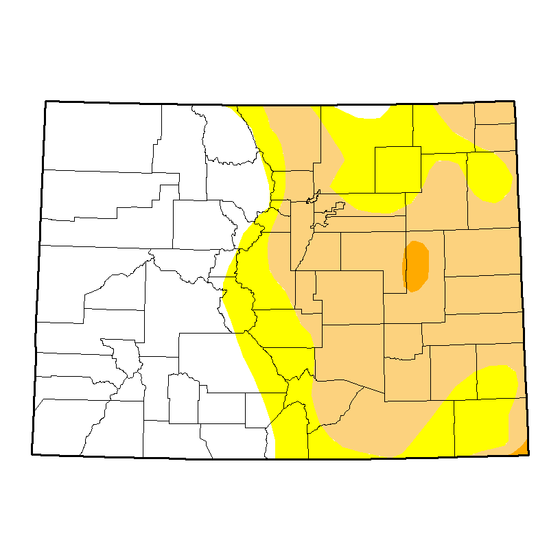 Drought Map - January 19, 2017