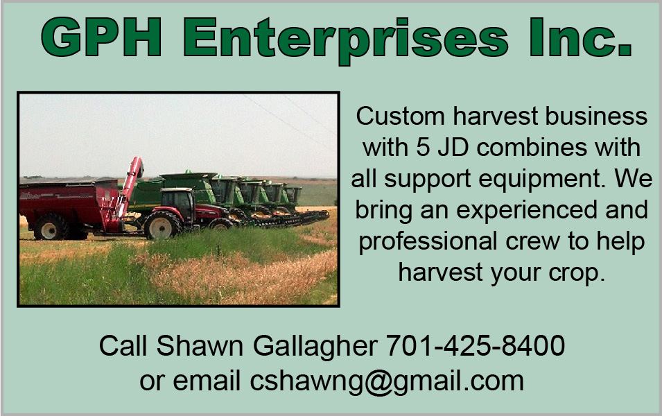 ADV - GPH Enterprises - Harvesting