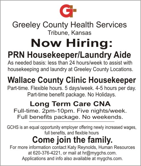 ADV - Greeley County Health Services - February 2017