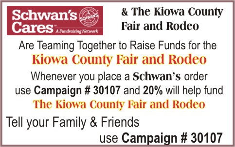 ADV - Schwann's and Kiowa County Fair