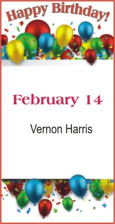Happy Birthday to Harris