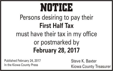 ADV - Tax Notice
