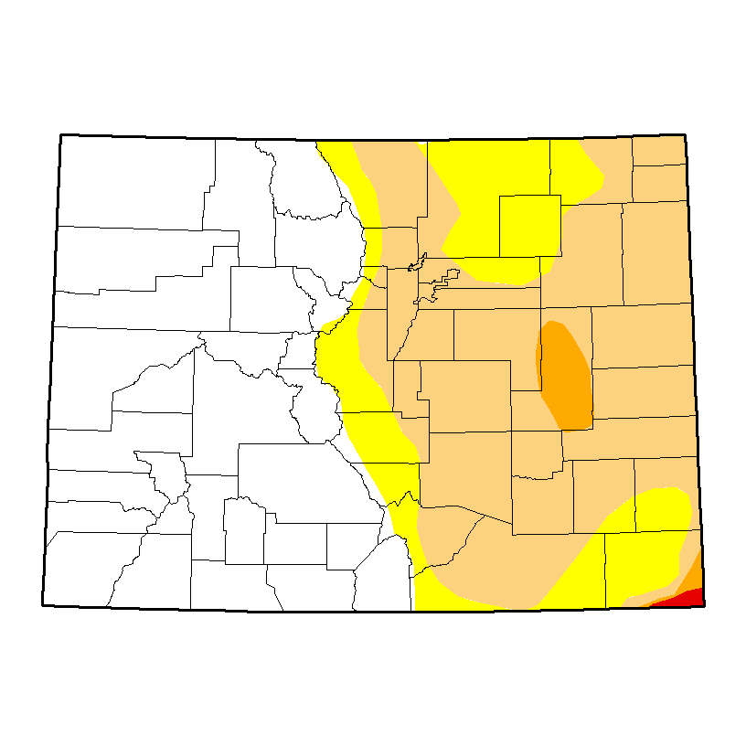 Drought Map - March 7, 2017