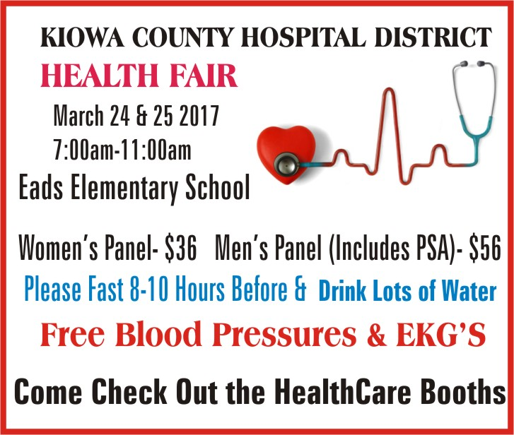 ADV Kiowa County Health Fair
