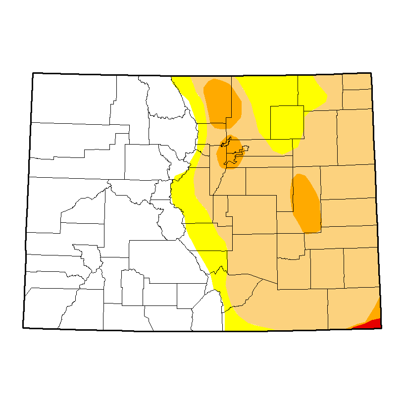 Drought Map - March 16, 2017