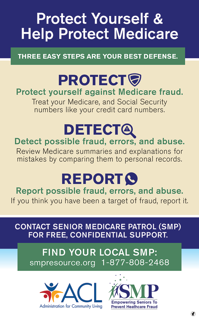 CALLOUT - Protect Yourself Against Medicare Fraud