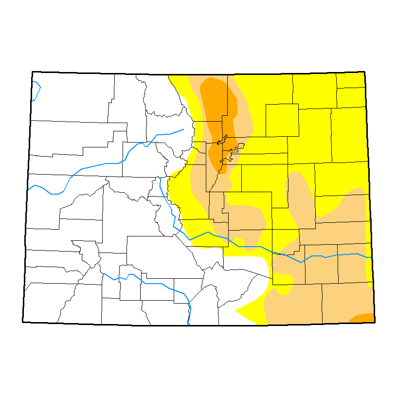 Drought Map - April 4, 2017