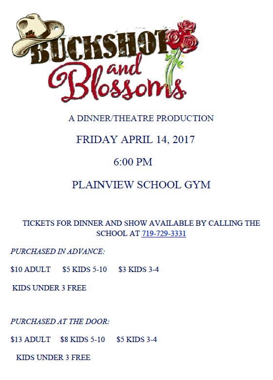 ADV - Dinner Theatre at Plainview School