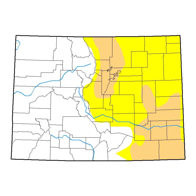 Drought Map - April 11, 2017