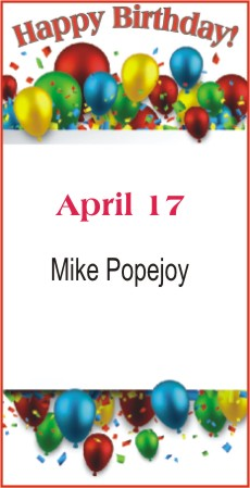 Happy Birthday to Popejoy