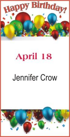 Happy Birthday to Crow
