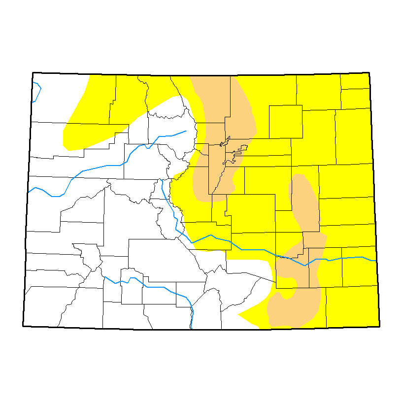 Drought Map - April 18, 2017