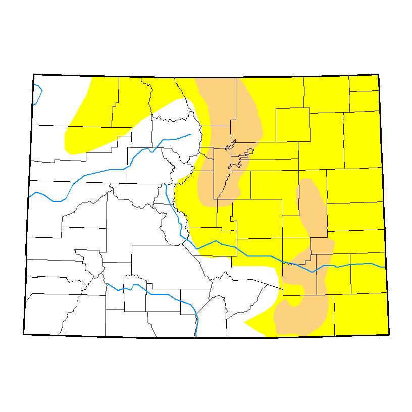 Drought Map - April 18, 2017