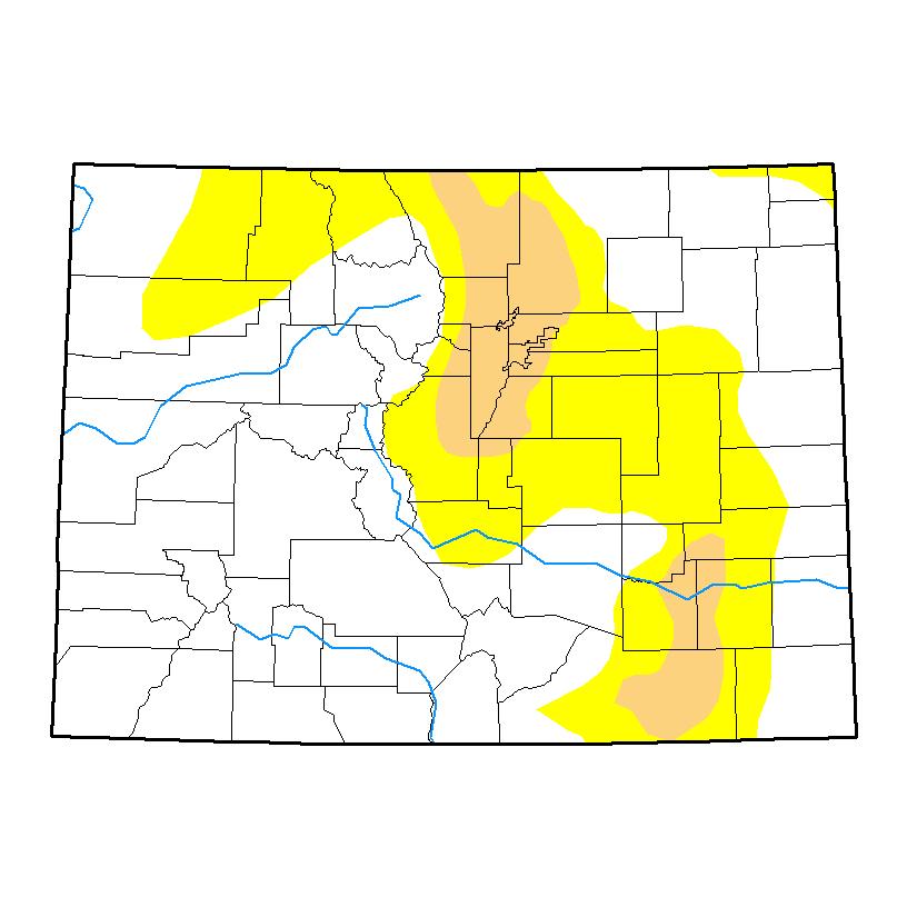 Drought Map - April 25, 2017