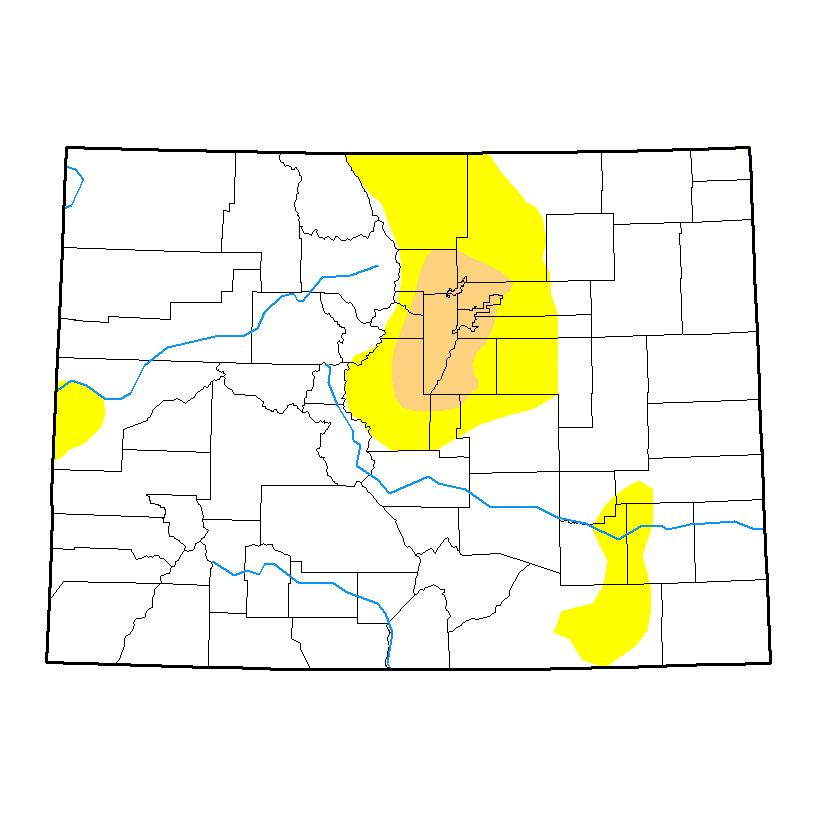 Drought Map - May 2, 2017