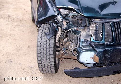 PICT - Car Crash Fender Tile - CDOT