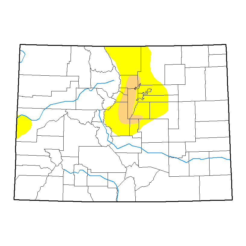Drought Map - May 11, 2017