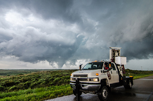 PICT Scanning a Tornado in Kansas - Univerity of Oklahoma