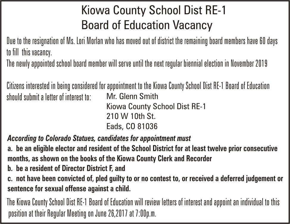 ADV School Board Vacancy
