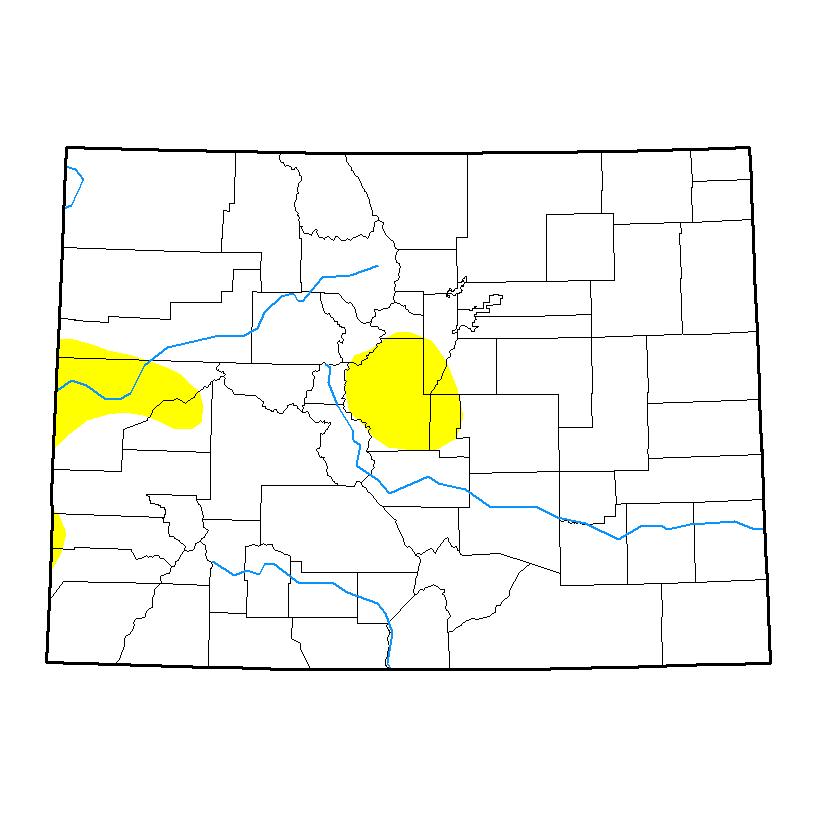 Drought Map - May 23, 2017