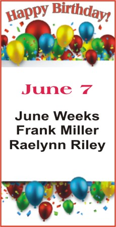 Happy Birthday to Weeks Miller Riley