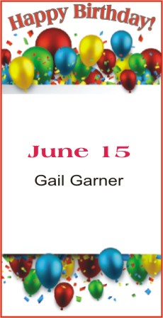Happy Birthday to Garner
