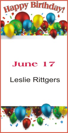 Happy Birthday to Rittgers