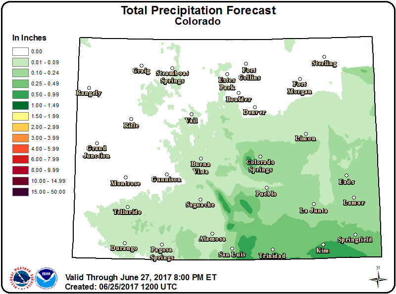 Weather - Colorado Precipitation Outlook
