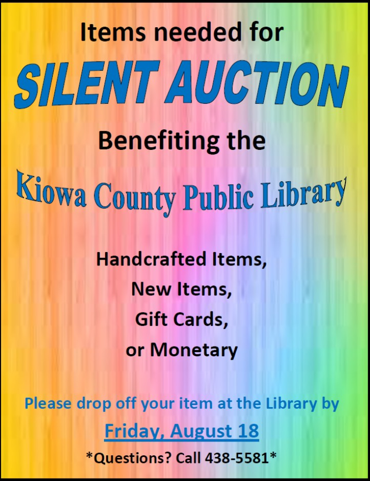 ADV - Library Silent Auction
