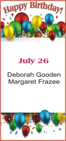 Happy Birthday to Gooden Frazee