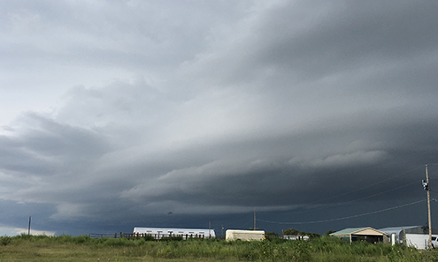PICT - Storm Formation over Kiowa County Thursday - Jeanne Sorensen