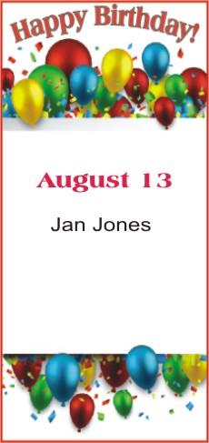 Happy Birthday to Jones