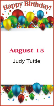 Happy Birthday to Tuttle