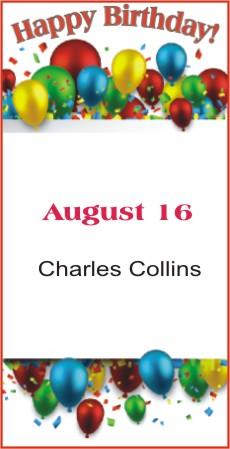 Happy Birthday to Collins