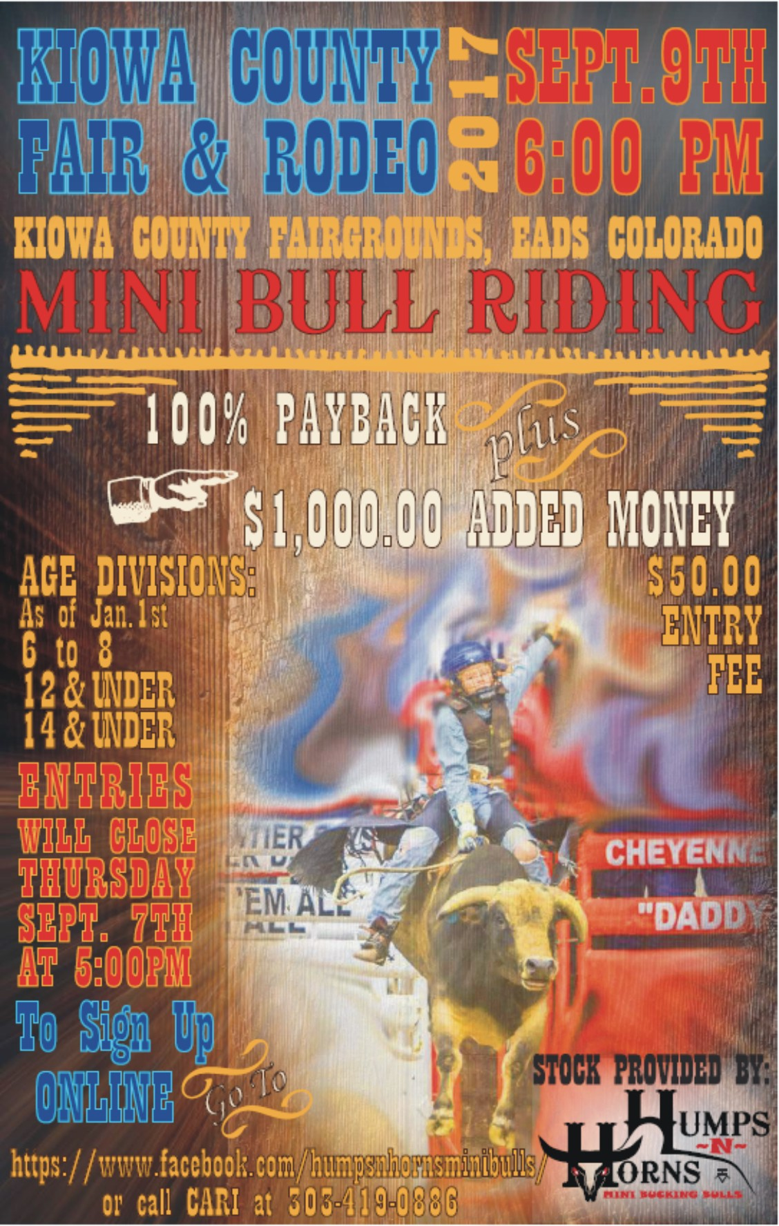 ADV - Mini Bull Riding 2017